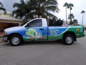 Truck Wrap Pickup Truck Graphics APS
