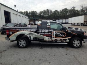 Truck Wrap Pickup Truck Graphics CAL
