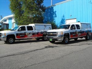 Truck Wrap Pickup Truck Graphics FCI Burndy
