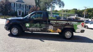 Truck Wrap Pickup Truck Graphics FNR
