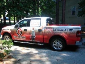 Truck Wrap Pickup Truck Graphics FOG