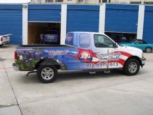 Truck Wrap Pickup Truck Graphics Ford GCC