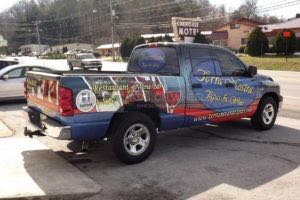 Truck Wrap Pickup Truck Graphics TEN Restaurant