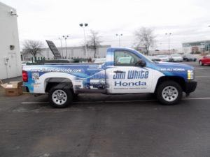 Truck Wrap Pickup Truck Graphics Automotive Dealership JWH