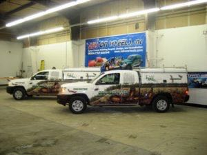 Truck Wrap Pickup Truck Graphics Bug Pest FWP