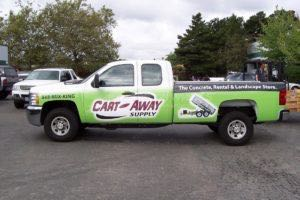 Truck Wrap Pickup Truck Graphics Cartaway