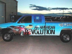 Truck Wrap Pickup Truck Graphics Chevy Silverado Dealerhsip Laramie
