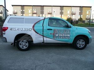 Truck Wrap Pickup Truck Graphics Cleaning Company IWC
