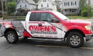 Truck Wrap Pickup Truck Graphics Construction Ford