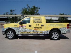 Truck Wrap Pickup Truck Graphics Costco Ford