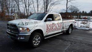 Truck Wrap Pickup Truck Graphics Dodge Ram Stoneworks RIP