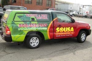 Truck Wrap Pickup Truck Graphics Extermination PST