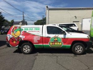Truck Wrap Pickup Truck Graphics Extermination Pest Pst2