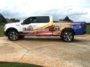 Truck Wrap Pickup Truck Graphics Franchise Home Construction Ubuildit