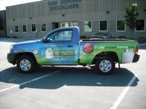Truck Wrap Pickup Truck Graphics Fuel Propane TPE