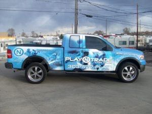 Truck Wrap Pickup Truck Graphics Game Video Pnt