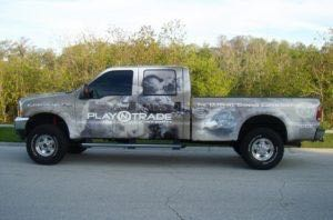 Truck Wrap Pickup Truck Graphics Gaming Company PNT