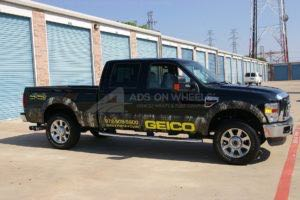 Truck Wrap Pickup Truck Graphics Geico
