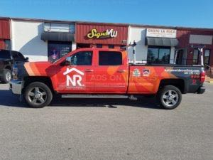 Truck Wrap Pickup Truck Graphics Gmc Roofing NWR