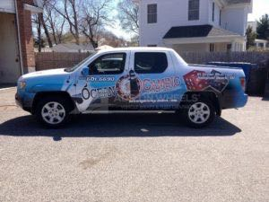 Truck Wrap Pickup Truck Graphics Honda ORF