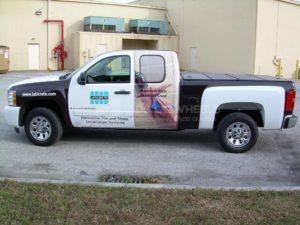 Truck Wrap Pickup Truck Graphics Laticrete Silverado