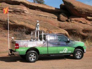 Truck Wrap Pickup Truck Graphics Maptek Ford MAP