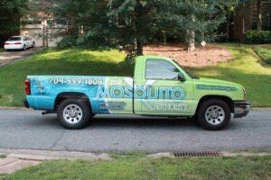 Truck Wrap Pickup Truck Graphics Mosquito Spray MQT
