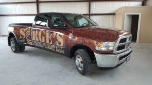Truck Wrap Pickup Truck Graphics Moving Company Sarge