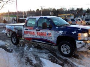Truck Wrap Pickup Truck Graphics National Guard CAC