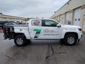 Truck Wrap Pickup Truck Graphics Nh Liquor 2