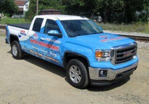 Truck Wrap Pickup Truck Graphics Plumbing Water Restoration Roto