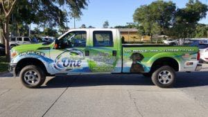 Truck Wrap Pickup Truck Graphics Power Wash Posw