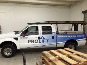 Truck Wrap Pickup Truck Graphics Pro Lift Garage Pld