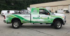 Truck Wrap Pickup Truck Graphics Property Management REALTY