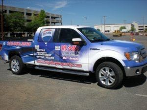 Truck Wrap Pickup Truck Graphics Remax Real Estate RMSMS