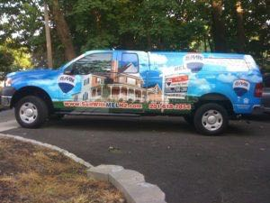 Truck Wrap Pickup Truck Graphics Remax Real Estate RMX