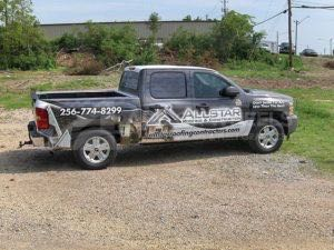 Truck Wrap Pickup Truck Graphics Roofing