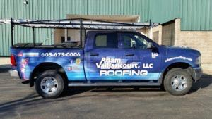 Truck Wrap Pickup Truck Graphics Roofing AVR