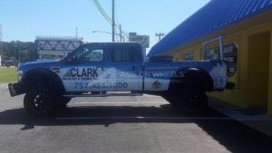 Truck Wrap Pickup Truck Graphics Roofing CRS