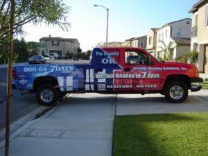 Truck Wrap Pickup Truck Graphics Roofing RNF