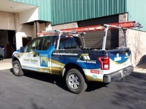 Truck Wrap Pickup Truck Graphics Roofing Master Certainteed