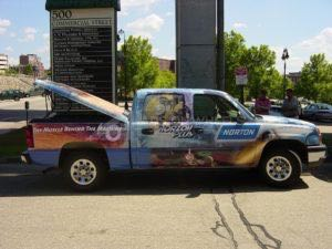 Truck Wrap Pickup Truck Graphics Saint Gobain SGB