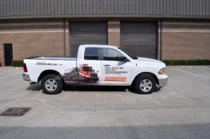 Truck Wrap Pickup Truck Graphics Schneider Transportation