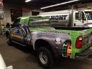 Truck Wrap Pickup Truck Graphics Service Truck Washing SWR