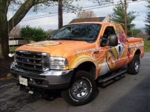 Truck Wrap Pickup Truck Graphics Smoothie King Franchise