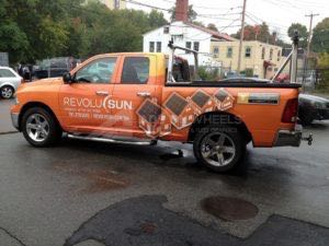 Truck Wrap Pickup Truck Graphics Solar Dodge Ram RES