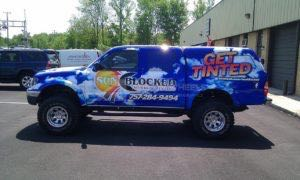 Truck Wrap Pickup Truck Graphics Tint Shop VSC