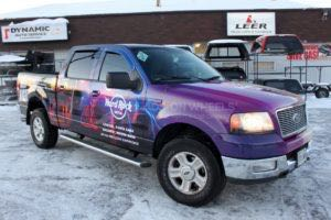 Truck Wrap Pickup Truck Graphics Travel Agency HAR