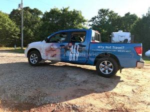 Truck Wrap Pickup Truck Graphics Vacation HAR