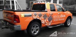 Truck Wraps Graphic Pickup Solar